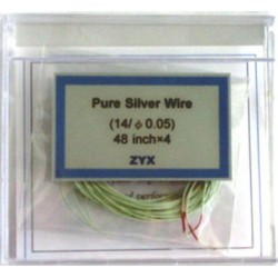 ZYX Pure Silver Wire 48 inch