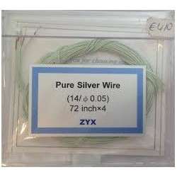 ZYX Pure Silver Wire 72 inch